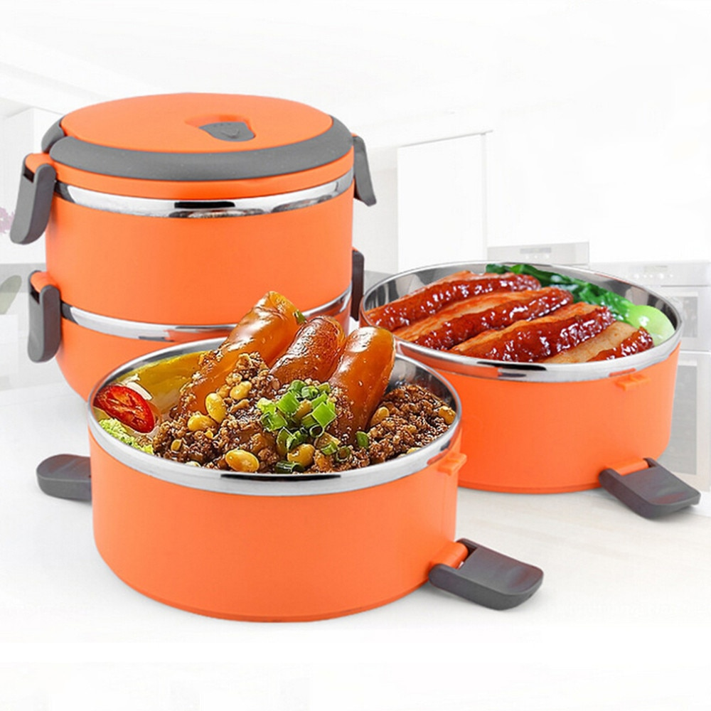 Stainless Handle Thermal Insulated Lunch Box kitchen tools