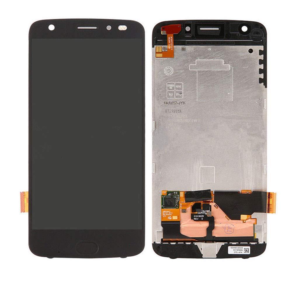 Sinbeda-pantalla LCD de 5,5 pulgadas para Motorola Moto Z2 Force, montaje de marco de Digitalizador de pantalla táctil para Moto Z2 Force LCD