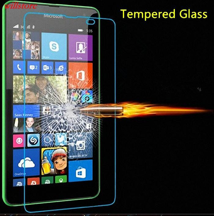 Szkło hartowane Screen Protector for Microsoft Nokia Lumia 430 435 532 540 550 640 XL 650 1020 1320 1520 950 X X2 XL SZKŁA Film 1