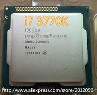 Lntel Core i7-3770K i7 3770K 3,5 Ghz/8MB 4 kerne Buchse 1155/5 GT/s DMI Desktop CPU
