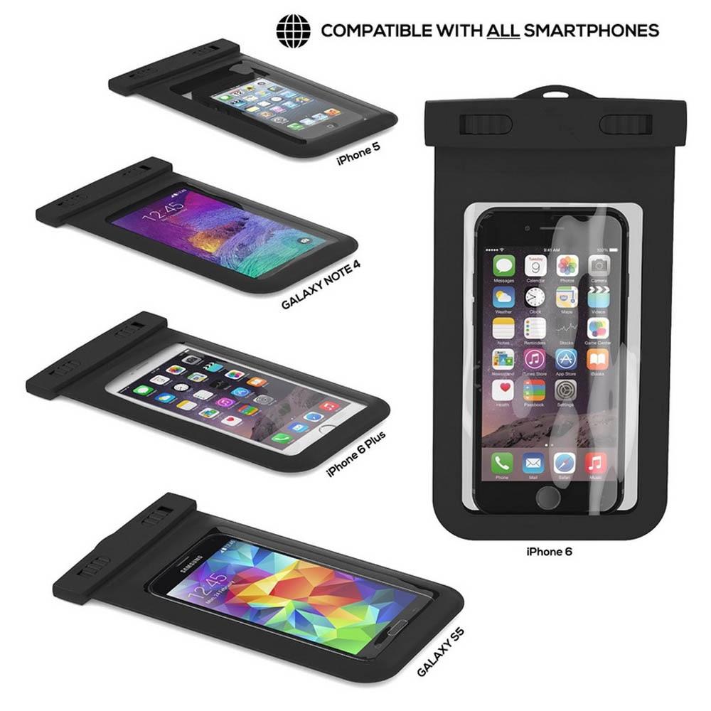 100% uszczelnione wodoodporna torba case pokrowiec etui na telefony dla iphone 7 6 6 s plus 5S samsung galaxy s7 s6 s5 s4 krawędzi plus mobilnej telefony 7