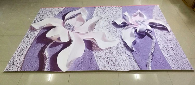 Niestandardowe Zdjęcia Tapety Stereoskopowe 3D Kwiaty Salon Sofa Tło Tapeta Nowoczesna Home Decor Pokoju Krajobraz Malowidła Ścienne 14