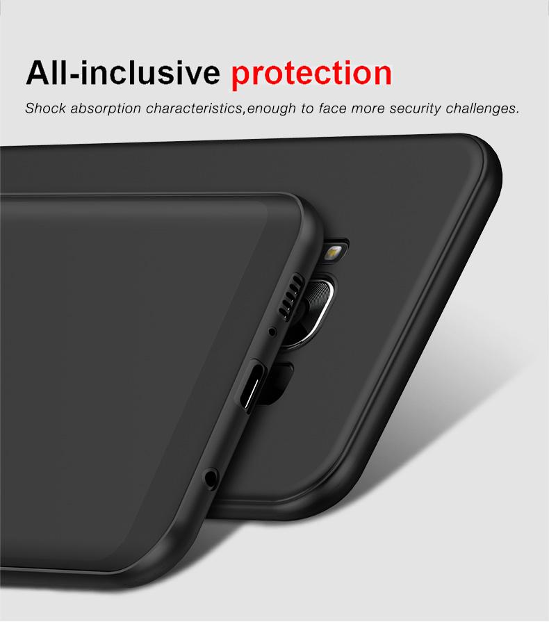 Cafele miękka tpu case do samsung s8/s8 plus sprawach slim powrót protect skóry ultra thin telefon pokrywa dla samsung galaxy s8 plus 8