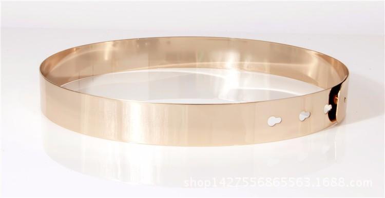 Metallist pihavööd – kuldne ja hõbedane