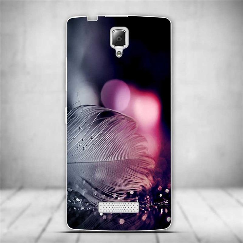 Luksusowe tylna pokrywa miękki tpu case dla lenovo a2010 a 2010 szczupła cienkie silikonowe etui na telefony dla lenovo a2010-a/a 2010 powrót skóry 10