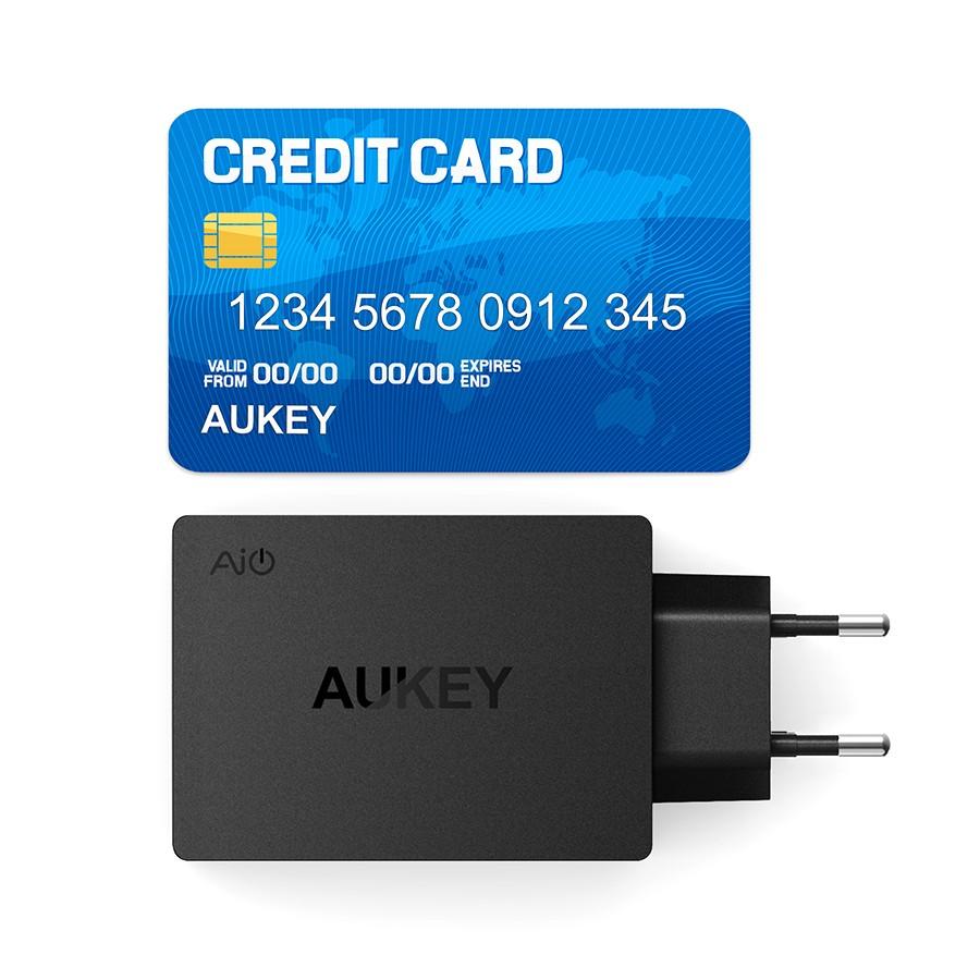 Aukey uniwersalny 4 porty usb ładowarka podróżna ładowarka ścienna adapter do iphone7 samsung s6 smart phones/pc/mp3 i usb urządzeń mobilnych 12