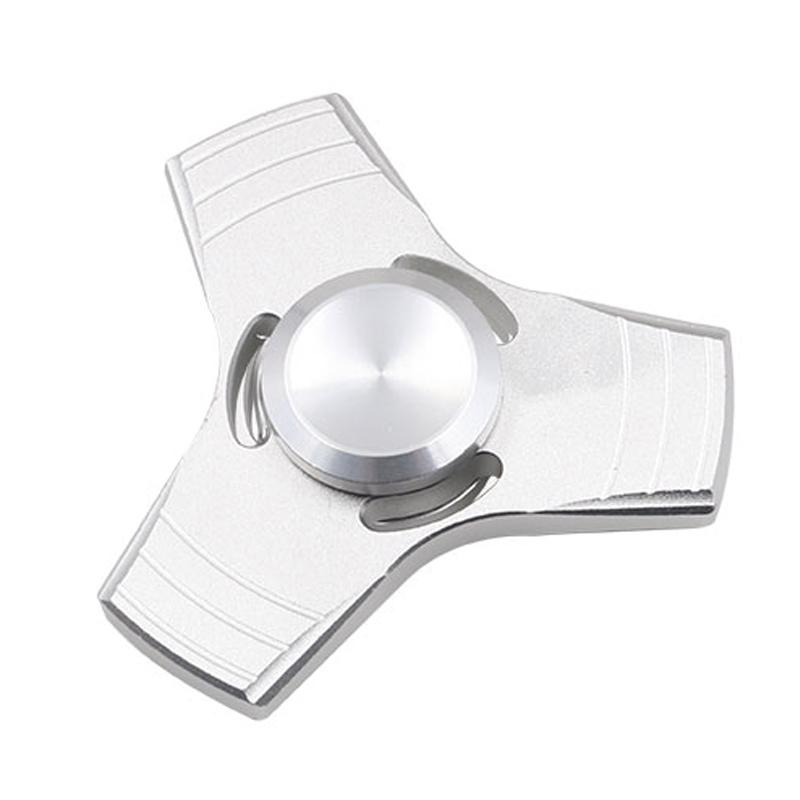 5 Kolory EDC Fidget UFO Tri-Cynku Ręcznie Spinner spinner Spinner Ze Stopu Aluminium Fidget Stres Zabawka Lęku Dorosłych Kid Metal Spinner 12