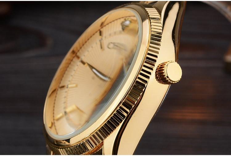 Chenxi złoty zegarek męskie zegarki top marka luksusowe znani zegarek męskie złoty zegarek kwarcowy kalendarz zegar relogio masculino 11