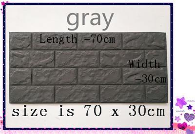 PCV 3D salon mur ceglany wzór tapety stickie dormitorium sypialnia retro wzór tapety adhesive392-F cegły 10