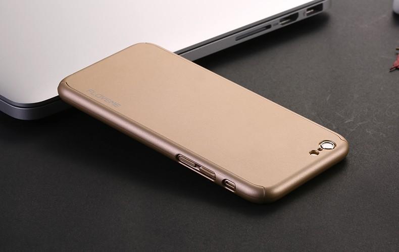 Floveme 6 s 7 plus armor screen protector 360 stopni case dla iphone 7 6 6 s dla iphone 6 6s 7 plus full chroń odporny na wstrząsy pokrywa 26