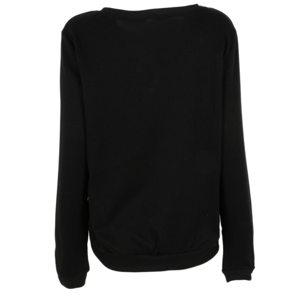 2017 Po Prostu Zrobić Nic Sudaderas Mujer Kobiety Moda Casual Długimi Rękawami i Kapturem Jumper Pullover Topy Shirt Wysokiej Jakości 14