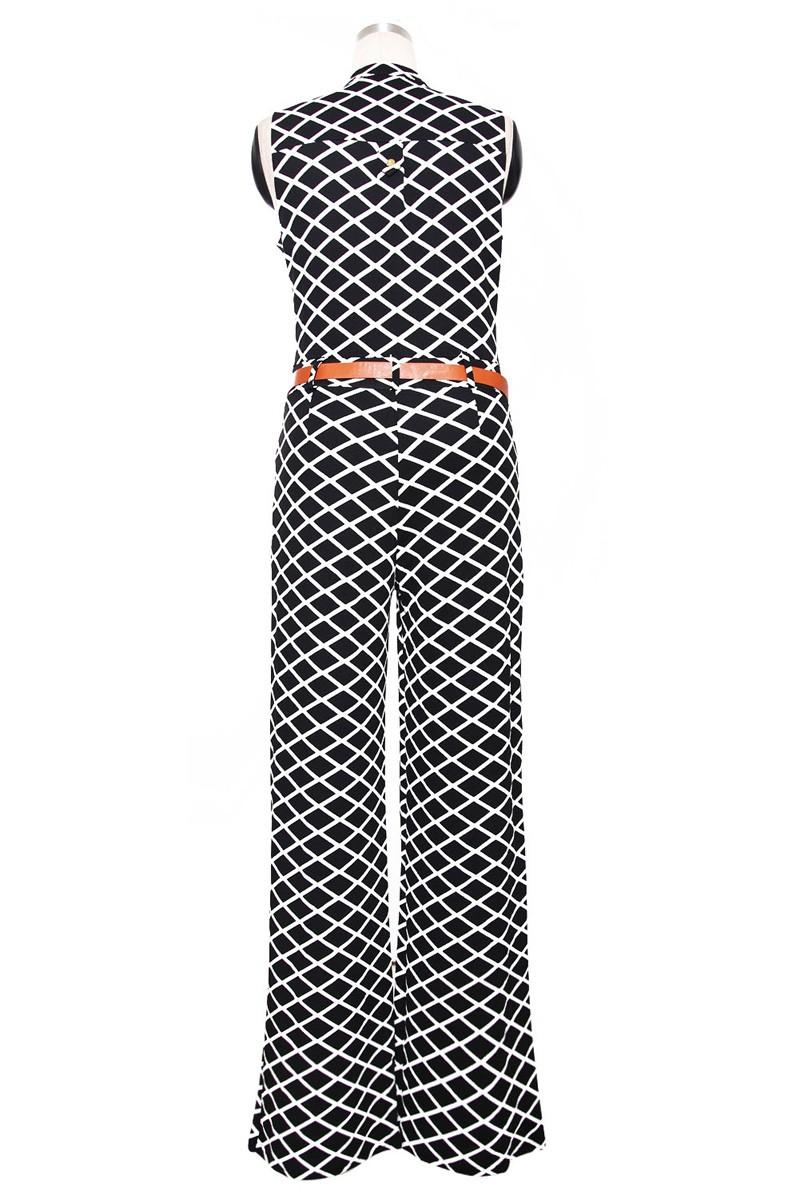 Zkess długie spodnie kombinezon kobiety pajacyki bez rękawów xxl v-neck 2017 pas stałe sexy klub nocny eleganckie szczupła kombinezony kombinezony 16