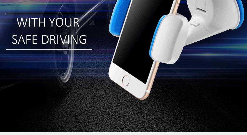 ESVNE Uniwersalny Telefon Samochodowy uchwyt szyby zamontować uchwyt na telefon komórkowy stojak uchwyt Samochodowy uchwyt na telefon Komórkowy Smartfon Telefon 2