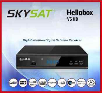 Hellbox V5 HD DVB-S2 Receiver support Auto roll PowerVu Auto roll
