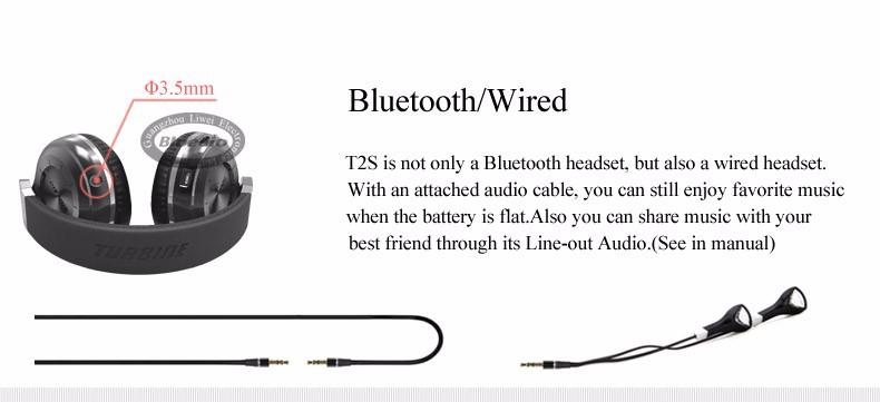 Bluedio t2s (brake fotografowania) słuchawki stereofoniczne słuchawki bezprzewodowe bluetooth 4.1 zestaw słuchawkowy bluetooth nad słuchawek dousznych 7
