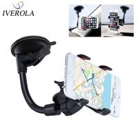 רכב אוניברסלי טלפון סלולרי בעל 3.5-6 אינץ Stand GPS תמיכה עבור Huawei גמיש מכונית טלפון בעל עבור iPhone X 8 7