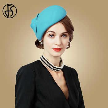 306a824df920ed Fascinator Wool Felt Hat Women Pink Pillbox Hats Black Ladies | wool felt  hat women—FS
