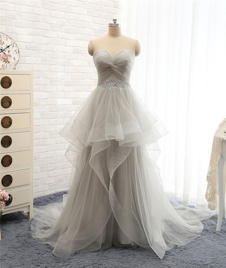 Off The Shoulder Tulle Long Evening Elegant Dress 1
