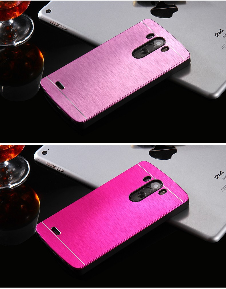 Kisscase złota luksusowe aluminium metal case capa dla lg optimus g3 g4 g3 g5 ultra slim shock proof back cover shell dla lg g3 g4 g2 10