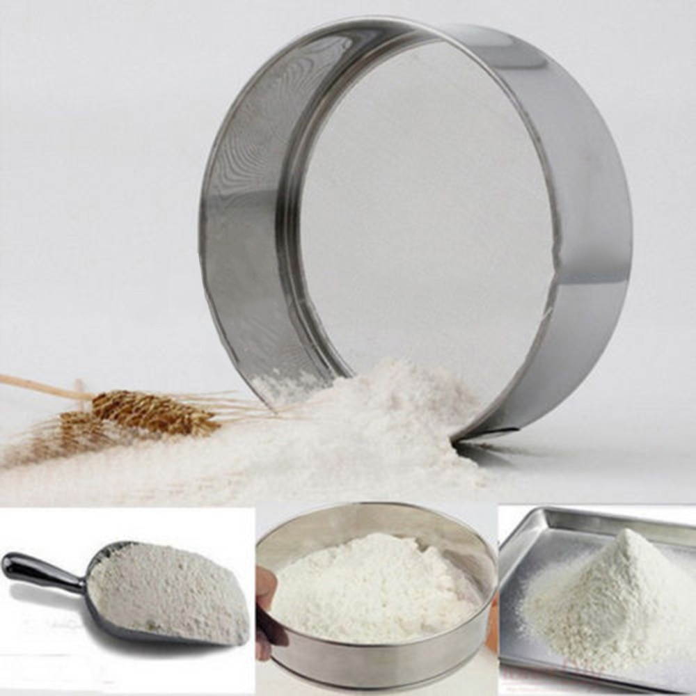 Mesh Flour Sifter Mechanical Baking Tools kitchen tools