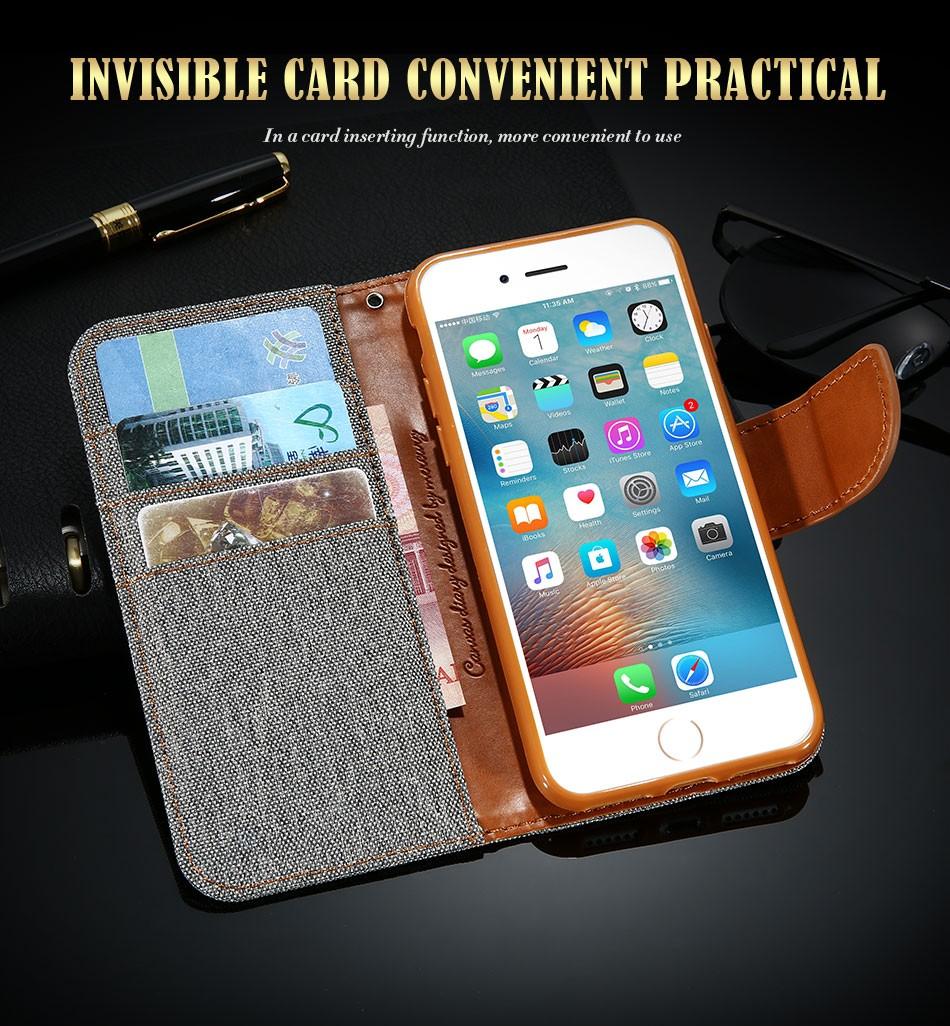 Kisscase stań portfel przerzuć przypadki dla iphone 6 6s 7 5 5S mody hit kolor slot kart skóra pokrywa dla iphone 7 6 s plus z logo 6