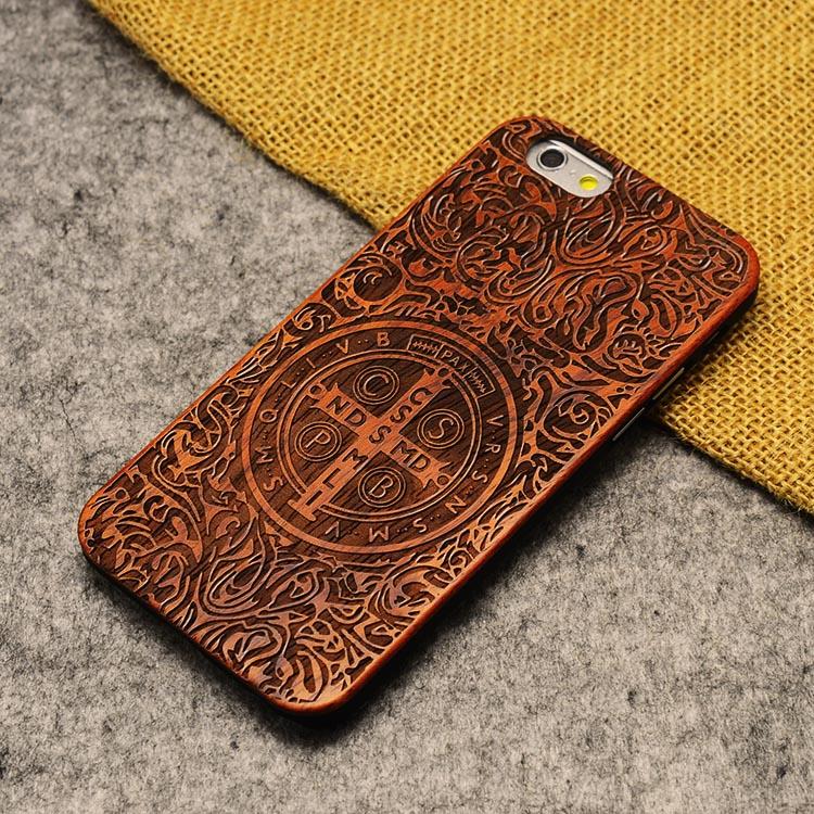 U & i marka cienki luksusowe natural wood telefon case for iphone 5 5s 6 6 s 6 plus 6 s plus 7 7 plus pokrywa drewniane wysokiej jakości, odporna na wstrząsy 23