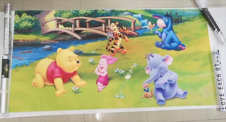 Dostosowane fototapety 3d realistyczne mural nosorożec zwierząt lew słonie włókniny sypialnia mural home decor tapety ścienne 3d 16
