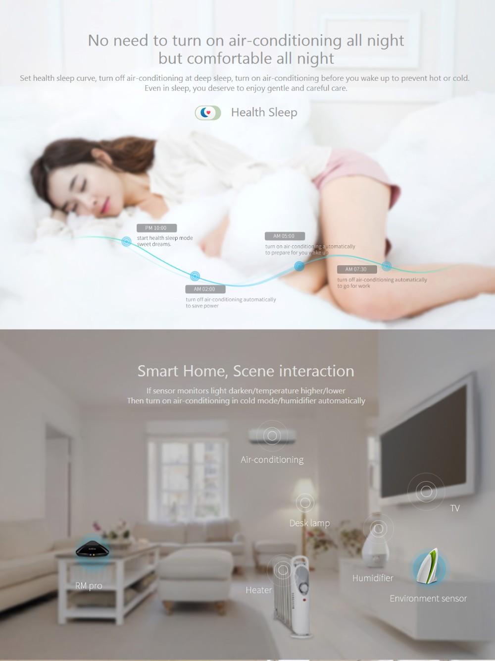 Broadlink RM3 RM Pro/RM mini3 Automatyki Inteligentnego Domu Uniwersalny Inteligentny Pilot WIFI + IR + RF Przełącznik dla iOS Android 16
