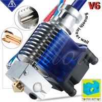 Mellow Top Qualität Alle Metall V6 J-kopf Hotend Bowden Extruder Kit Für E3d V6 Hotend Lüfter Halterung block 3D Drucker Teile