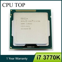 Intel i7 3770K Quad Core LGA 1155 3,5 GHz 8MB Cache Mit HD Grafik 4000 TDP 77W desktop-CPU