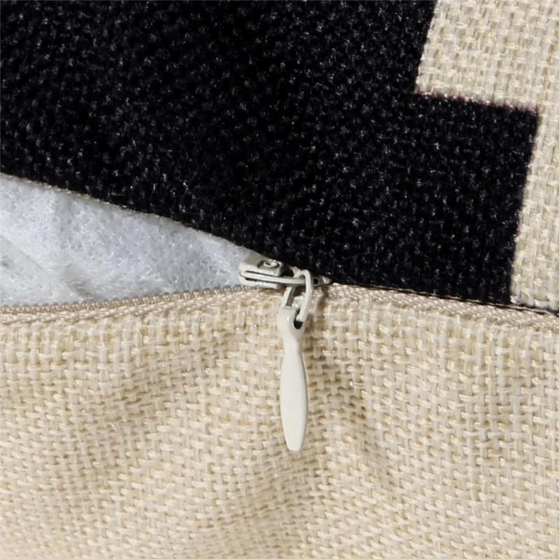 vintage cotton linen cushion cover