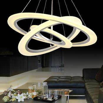 La mejor compra Anillo círculos modernos luces colgantes para ...