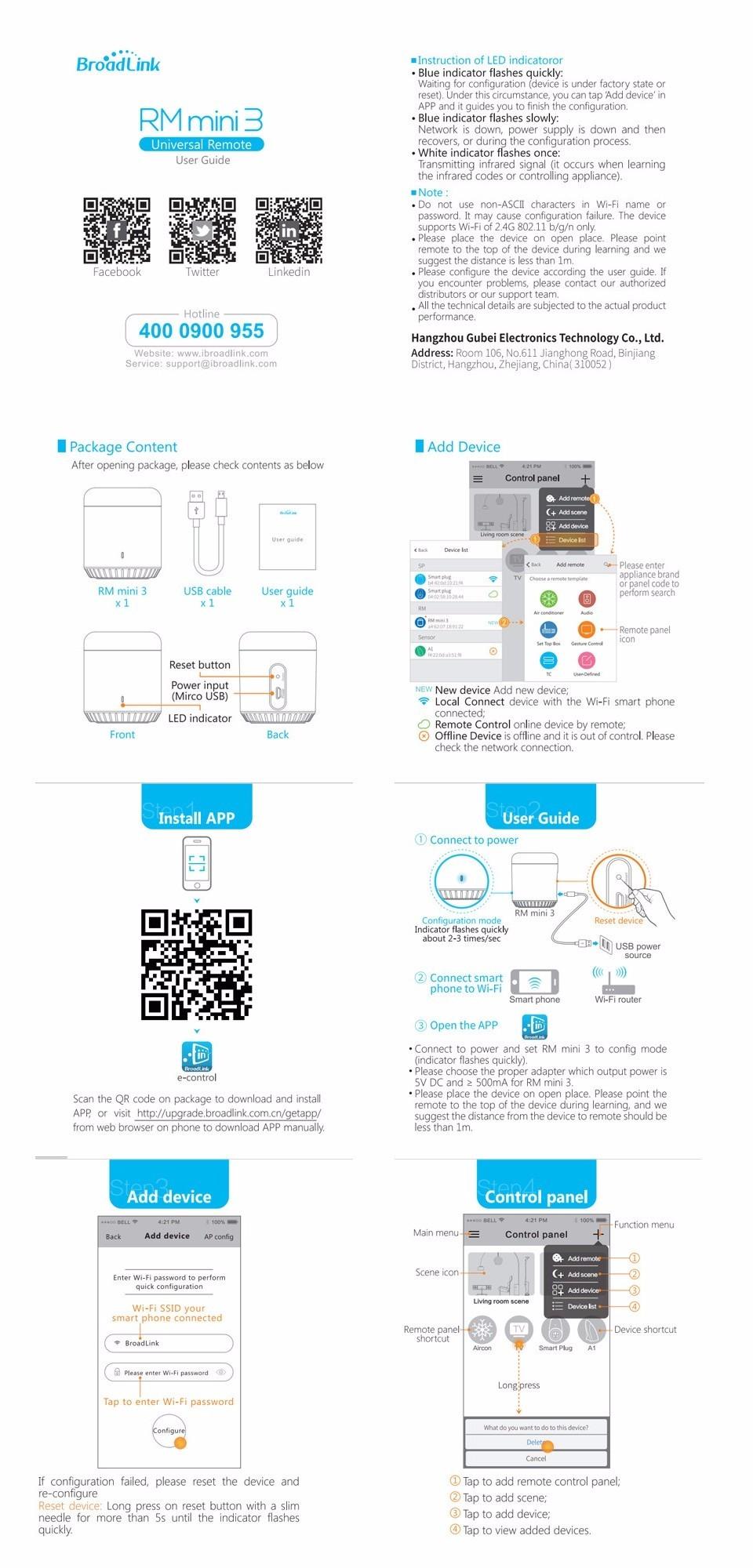Broadlink RM3 RM Pro/RM mini3 Automatyki Inteligentnego Domu Uniwersalny Inteligentny Pilot WIFI + IR + RF Przełącznik dla iOS Android 39