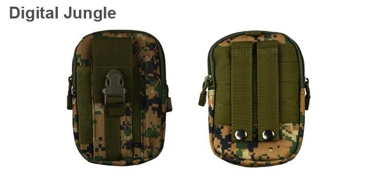 Uniwersalny Odkryty Wojskowy Molle Tactical Kabura Pasa Biodrowego Pasa Torba portfel kieszonki kiesy telefon etui z zamkiem błyskawicznym na iphone 7/lg 20
