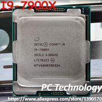 Original Intel Core I9 I9-7900X SR3L2 CPU 10-cores 3,30 GHZ 13,75 MB 14nm LGA2066 I9 7900X prozessor freies verschiffen