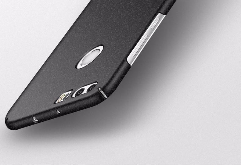 "Oryginalny huawei honor 8 msvii marki case silikonowy peeling pokrywa twardy pc back cover dla huawei honor8 przypadki 5.2"" 6"