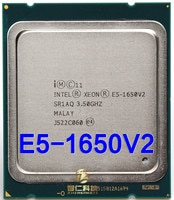 Intel Xeon Prozessor E5 1650V2 E5-1650 V2 e5 1650 V2 CPU LGA 2011 Server prozessor Desktop-Prozessor