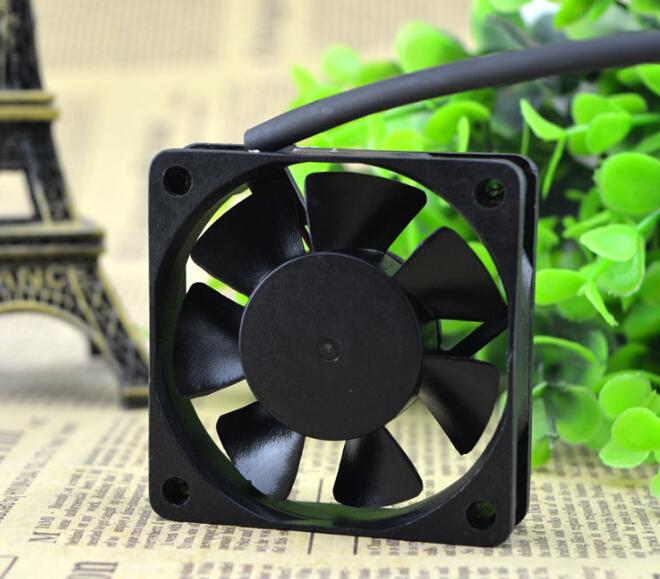 The original ADDA 60*60*15 DC12V 0.11A 6CM AD0612MB-D70GL power supply case fan