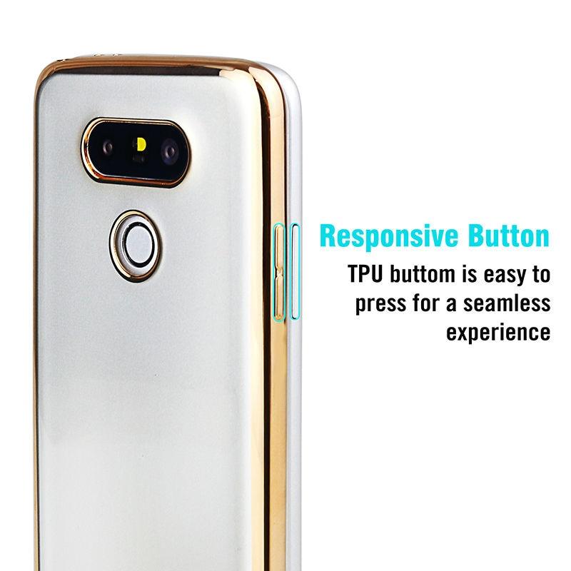 Sprawa silikonowy Do LG G4 G5 K5 K10 Pokrywa Przezroczysty Poszycia Złota Ultra Thin Miękkie Wyczyść Back Cover Dla LG G4 G5 K5 K10 Coque 6