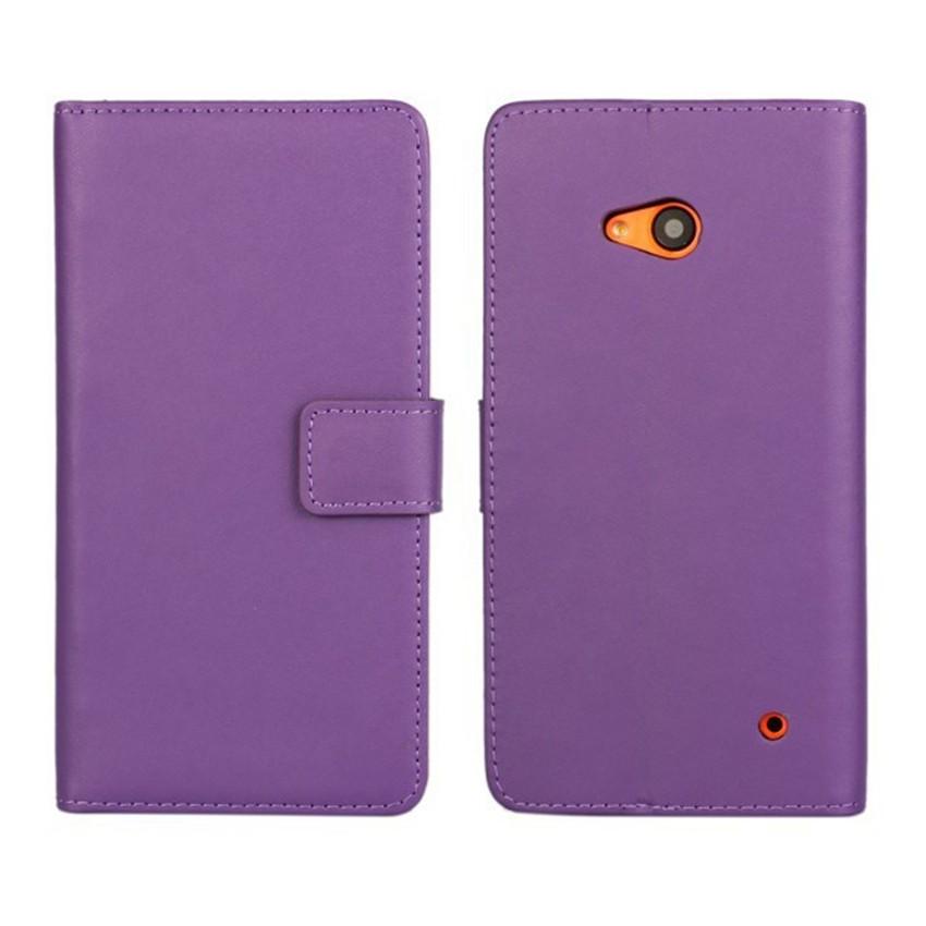 Luksusowe odwróć portfel genuine leather case pokrywa dla microsoft lumia 640 lte dual sim cell phone case do nokia 640 n640 powrót pokrywa 12
