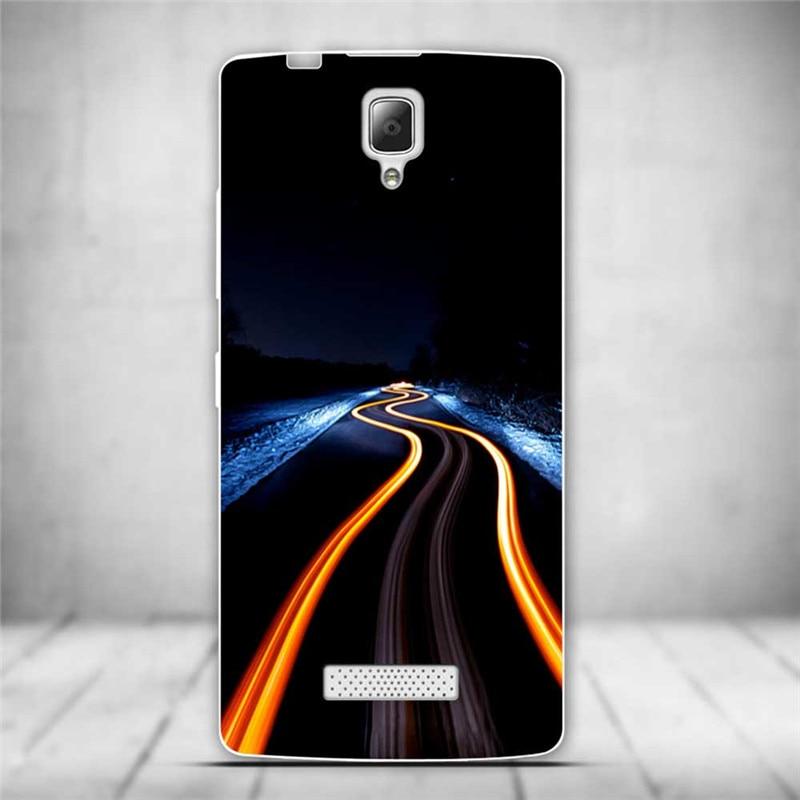 Luksusowe tylna pokrywa miękki tpu case dla lenovo a2010 a 2010 szczupła cienkie silikonowe etui na telefony dla lenovo a2010-a/a 2010 powrót skóry 12