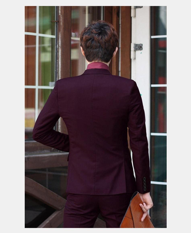 (Kurtka + Spodnie + Tie) luksusowe Mężczyzn Garnitur Mężczyzna Blazers Slim Fit Garnitury Ślubne Dla Mężczyzn Kostium Biznes Formalne Party Niebieski Klasycznej Czerni 10