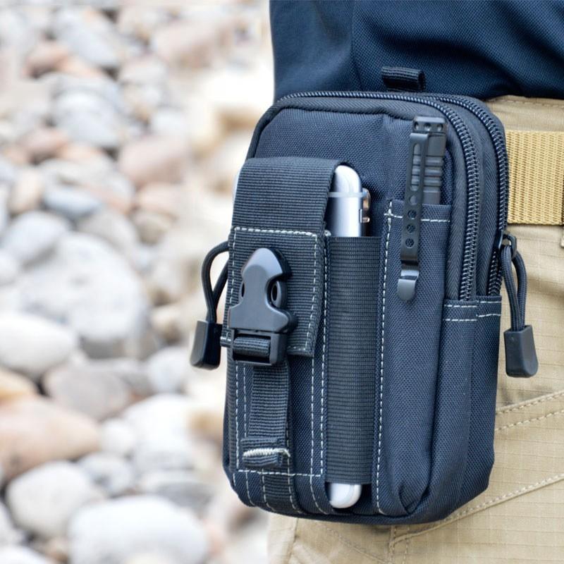 Uniwersalny Odkryty Wojskowy Molle Tactical Kabura Pasa Biodrowego Pasa Torba portfel kieszonki kiesy telefon etui z zamkiem błyskawicznym na iphone 7/lg 2