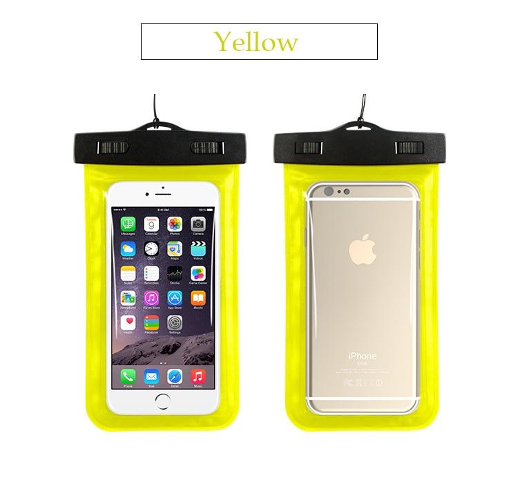 Tmalltide Uniwersalny Telefon Torby Etui z Paskiem Wodoodporne Przypadkach 5S Pokrowce na iPhone 6 6 S 7 Plus Skrzynki Pokrywa 24