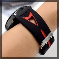 Huawei GT Watch 2Pro Huami Amazfit 2 용 스포츠 스트랩 22mm 밴드 삼성 갤럭시 워치 46mm 기어 S3 시계 밴드, Huami Amazfit 2 시계 팔찌