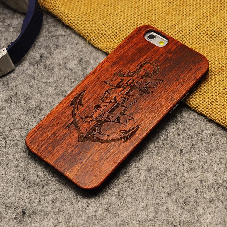 U & i marka cienki luksusowe natural wood telefon case for iphone 5 5s 6 6 s 6 plus 6 s plus 7 7 plus pokrywa drewniane wysokiej jakości, odporna na wstrząsy 22