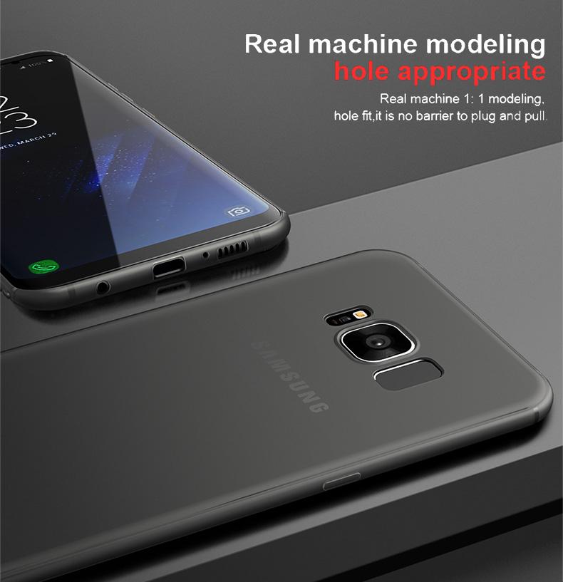 Cafele miękka tpu case do samsung s8/s8 plus sprawach slim powrót protect skóry ultra thin telefon pokrywa dla samsung galaxy s8 plus 11
