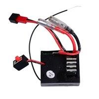 Receptor de carro/esc embutido, componentes acessórios e peças de reposição, para buggy, wltoys, a949, a959, a969, k929