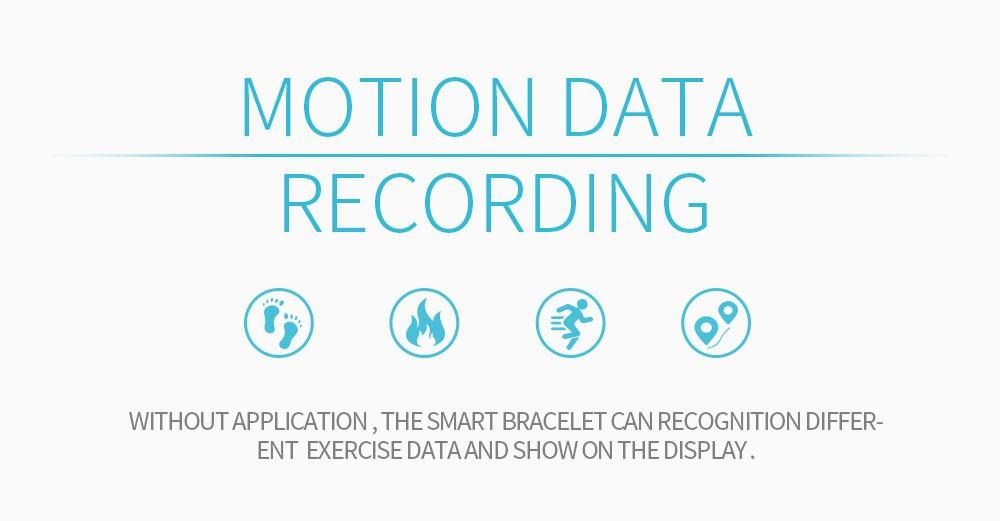 Lemfo l30t kolorowy ekran inteligentny zespół pulsometr krokomierz uśpienia fitness tracker dla andriod ios telefon 3