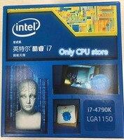 Neue und original Intel i7 4790 karat quad-core CPU 1150 nadel qualität assurance für ein jahr Freies verschiffen
